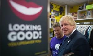 Boris Johnson on leave campaign trail