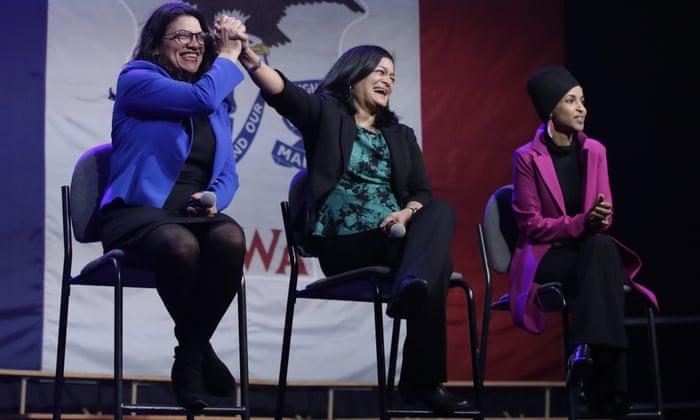 Image result for VIDEO: Rashida Tlaib Boos Hillary Clinton at Bernie Rally