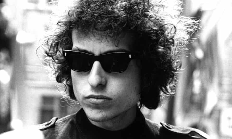 Dylan in London in 1966.
