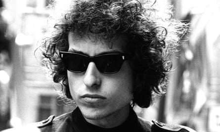 Bob Dylan at the Mayfair hotel, London, May 1966