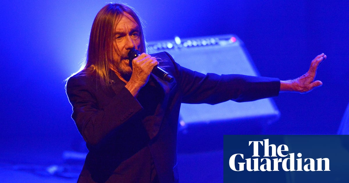 Thank you to ... Iggy Pop, for showing everyone how to be more alive