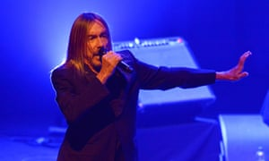 Iggy Pop performing at the Barbican -jazz festival. Photograph: Jim Dyson/Getty Images