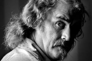 A portrait of Billy Connolly from 2001.