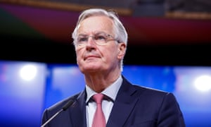 Michel Barnier has suggested the Brexit transition period could last until 2022.