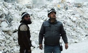 A still from Last Men in Aleppo. 'The film is coming from the side of the human being,' says Fayyad.