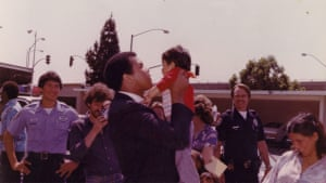 Young Muhammad Ali picking me up as a kid and holding me up in 1982