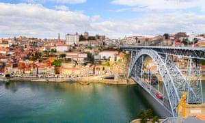 Дом Луис I мост через реку Дору, Порту.