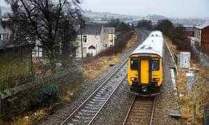 A Northern train in Accrington, Lancashire.