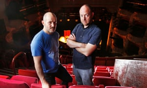 'The physicality of a production needs evolution and breath' … Steven Hoggett, left, and John Tiffany.