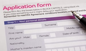 Most application forms can be filled in online, but some companies still ask applicants to fill in paper copies.