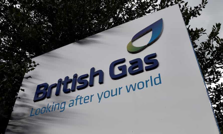 A British Gas sign outside its offices