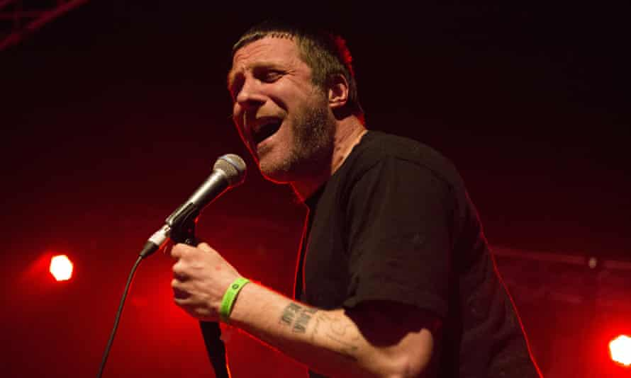 Jason Williamson of Sleaford Mods at All Tomorrow's Parties.