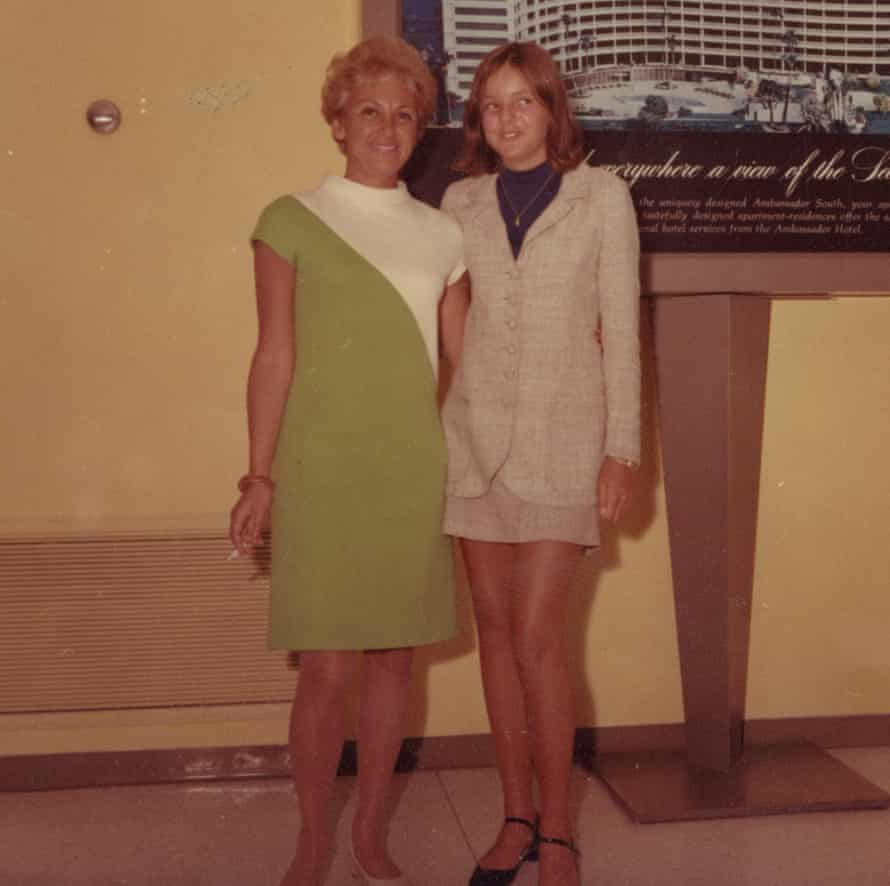 'She frightened me' … Tracy with Elaine in the late 60s