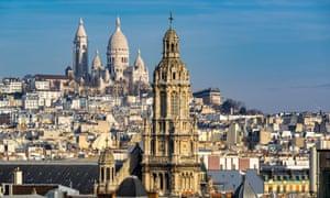 Rooftops Paris Sacre Coeur Montmartre