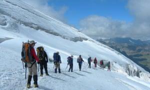 Gran Paradiso Climb weekend in Italy