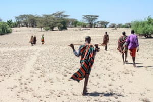 The way of life of the pastoralist Turkana people in Kenya is increasingly under threat as its water resources diminish.
