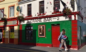 the Crane Bar on Sea Road, Galway, Connemara, County Galway, Republic of Ireland,