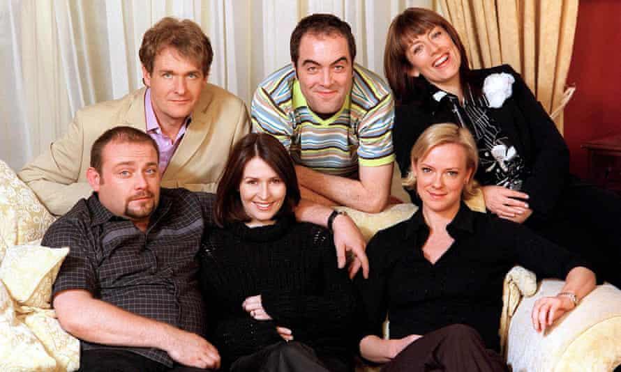 Chilled… Cold Feet back in the 90s – Robert Bathurst, James Nesbitt, Fay Ripley, Hermione Norris, Helen Baxendale and John Thomson.