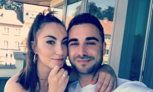 Maddie Newton, 26, and David Powell, 33