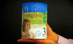 Bellamy's infant formula