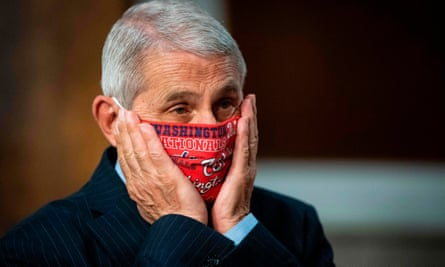 Dr Anthony Fauci:'We are still knee-deep in the first wave of this. And I would say, this would not be considered a wave. It was a surge, or a resurgence of infections superimposed upon a baseline.'