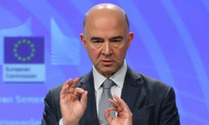 Pierre Moscovici: 'There must be no delay and no compromise.'