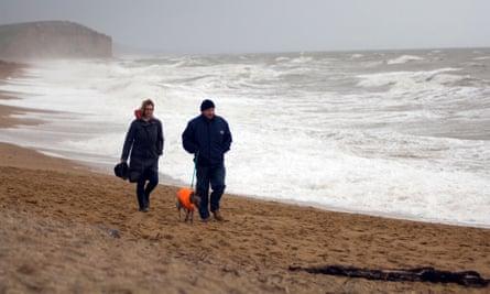 Storm Brendan will crash into the coastline on Monday.