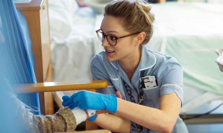 Nurses from the EU are praised by NHS managers for their very strong skills 'that lift the standard of our own'.