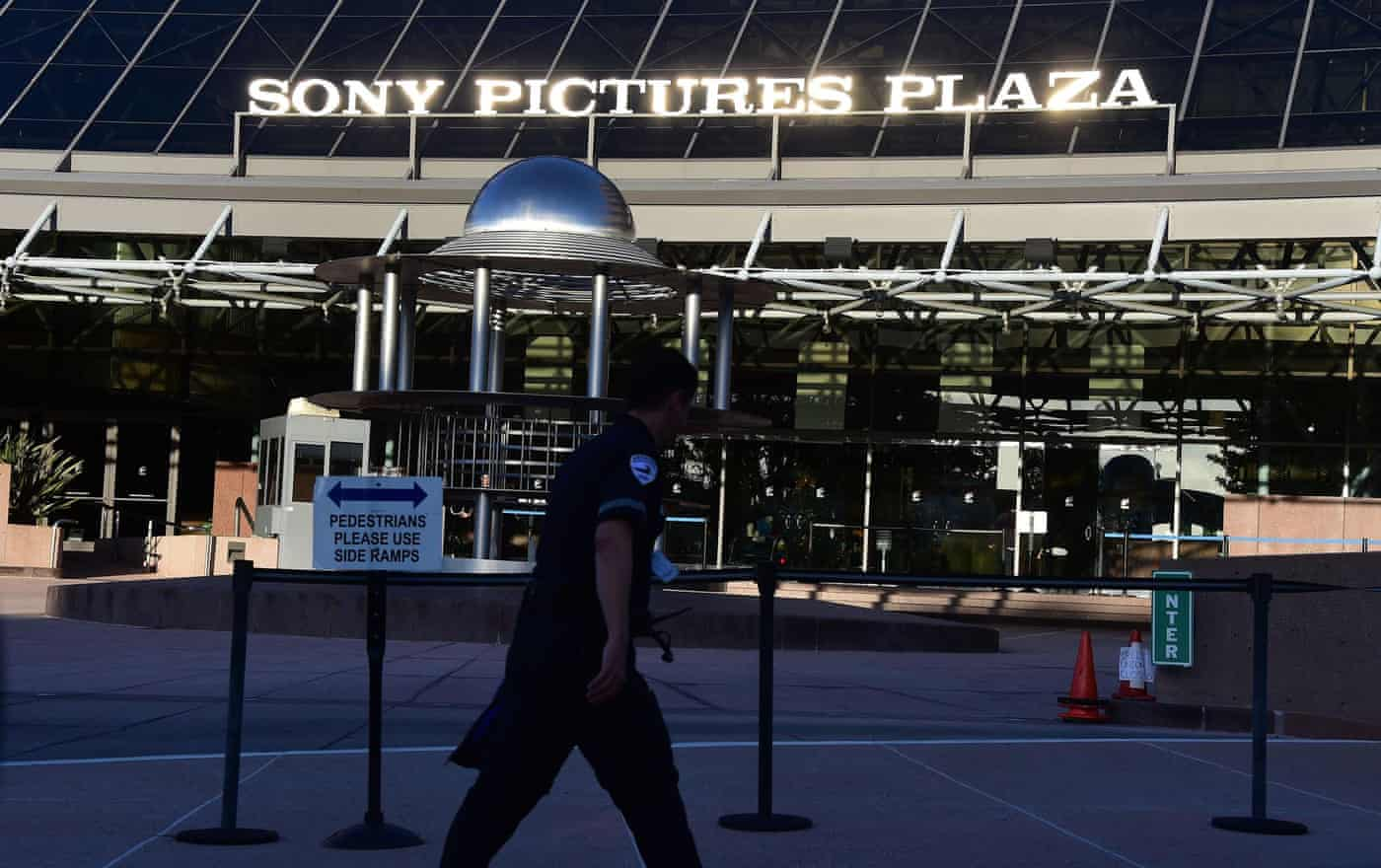 Hackers who targeted Sony invoke 9/11 attacks in warning to moviegoers
