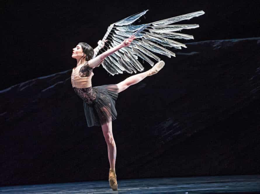Sarah Lamb in Raven Girl.