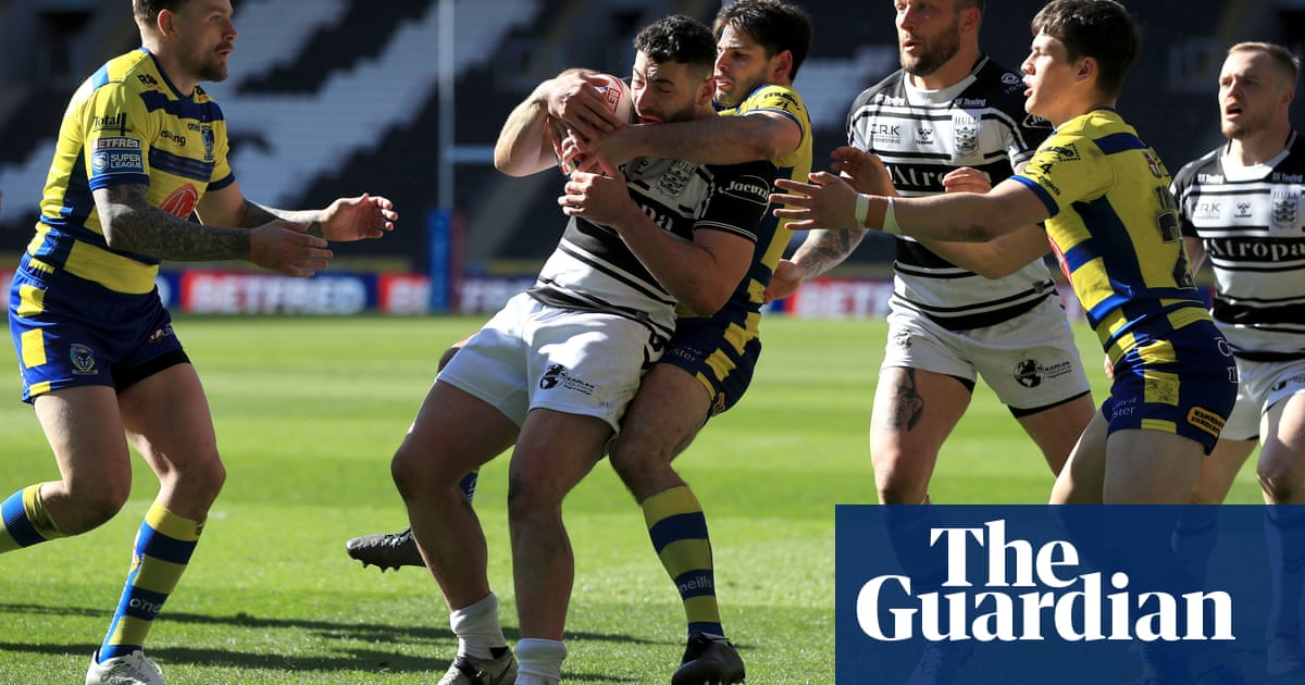 Jake Mamo's late try salvages draw for Warrington at Hull FC
