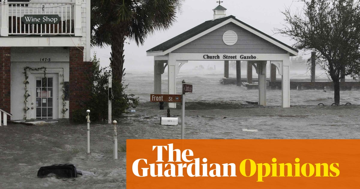 'Warning of what has already arrived': Florence is a climate change triple threat | Michael Mann