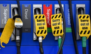 Rising fuel prices have helped drive up the UK inflation rate.