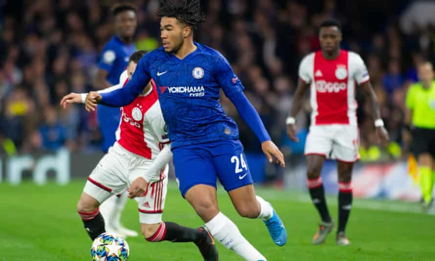 Reece James impressed Frank Lampard in Chelsea's 4-4 draw with Ajax.