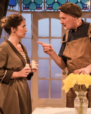 Charlotte Brimble and Vincent Brimble in Windows at Finborough, London