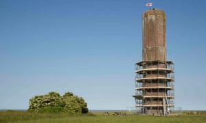 The Naze Tower in Essex, a Grade II* listed structure used as a lookout post in the Napoleonic Wars.