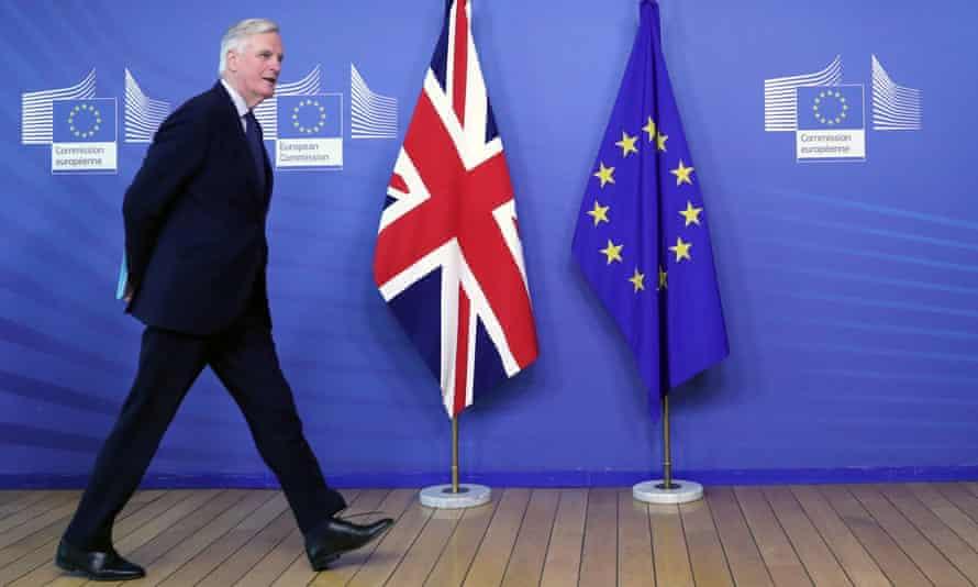The EU's chief Brexit negotiator, Michel Barnier.