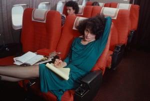 Diane von Furstenberg, fashion designer, New York, 1979 by Susan Wood