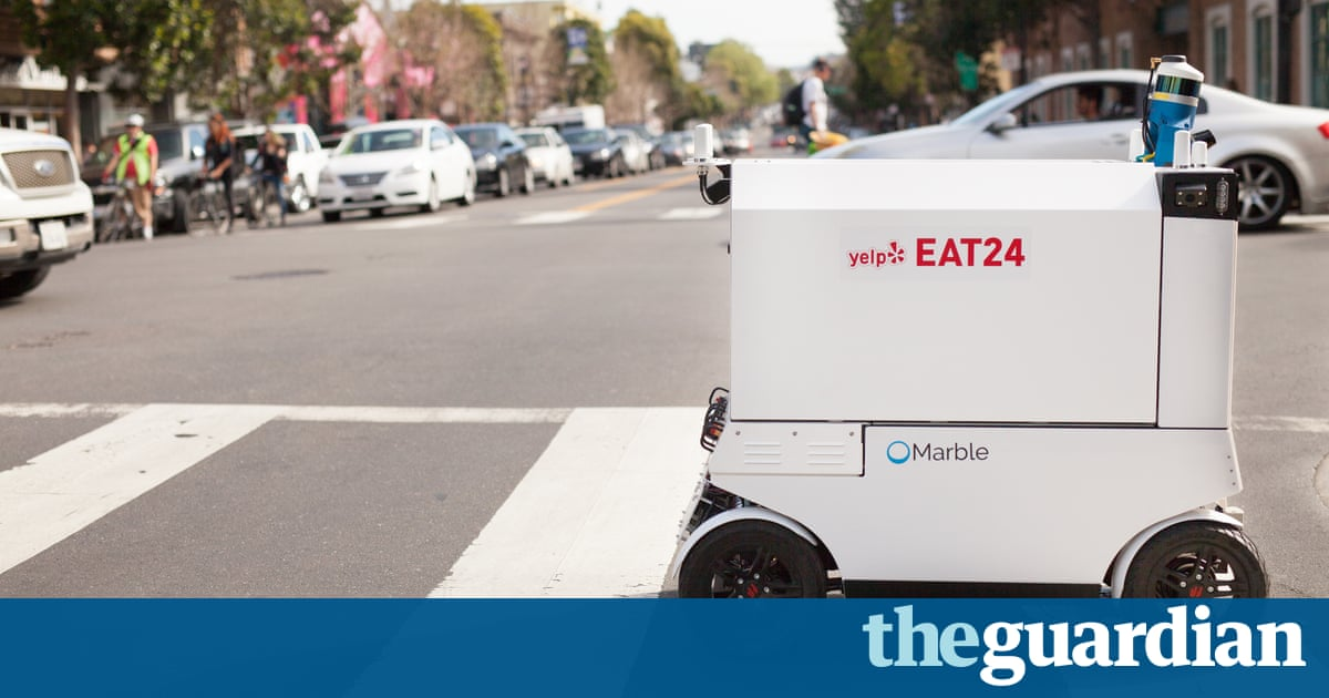 'Our streets are made for people': San Francisco mulls ban on delivery robots