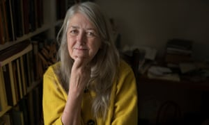 Mary Beard: tweeted an image of herself in tears.