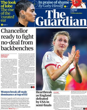Guardian front page 3/07/19