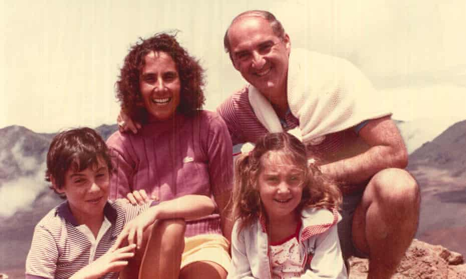 Peter Savodnik with his mother, father and sister