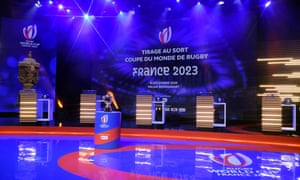 Rugby World Cup France 2023 draw at Palais Brongniart