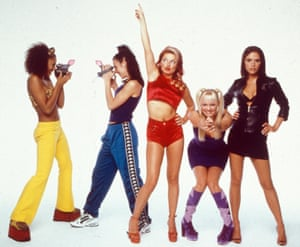 The Spice Girls in a promo shot from 1996