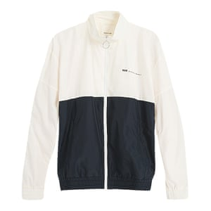 black and white tracksuit top Woodwood