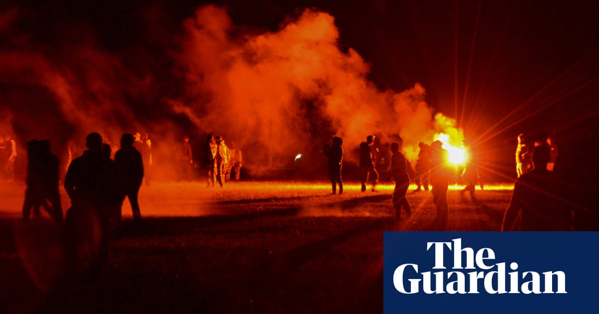'It was war': party-goer loses hand amid clashes with French police at illegal rave - the guardian