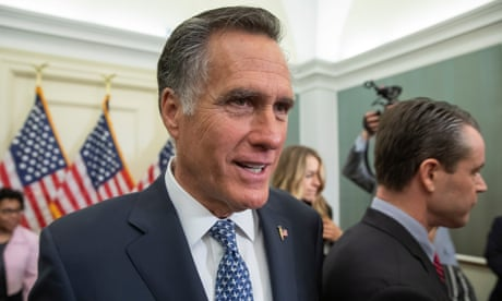 Mitt Romney says he may not endorse Trump for re-election in 2020