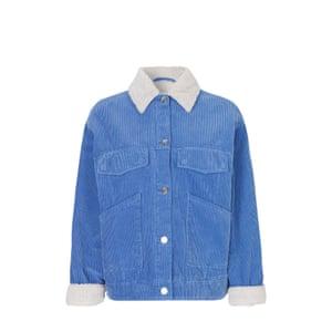 Blue cord jacket, £220, samsoe.com.