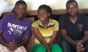 Lucha activists in Goma.