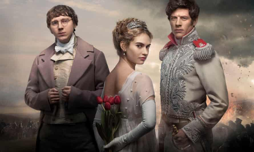 The stars of War and Peace adaptation